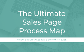 The Ultimate Sales Page Process Map