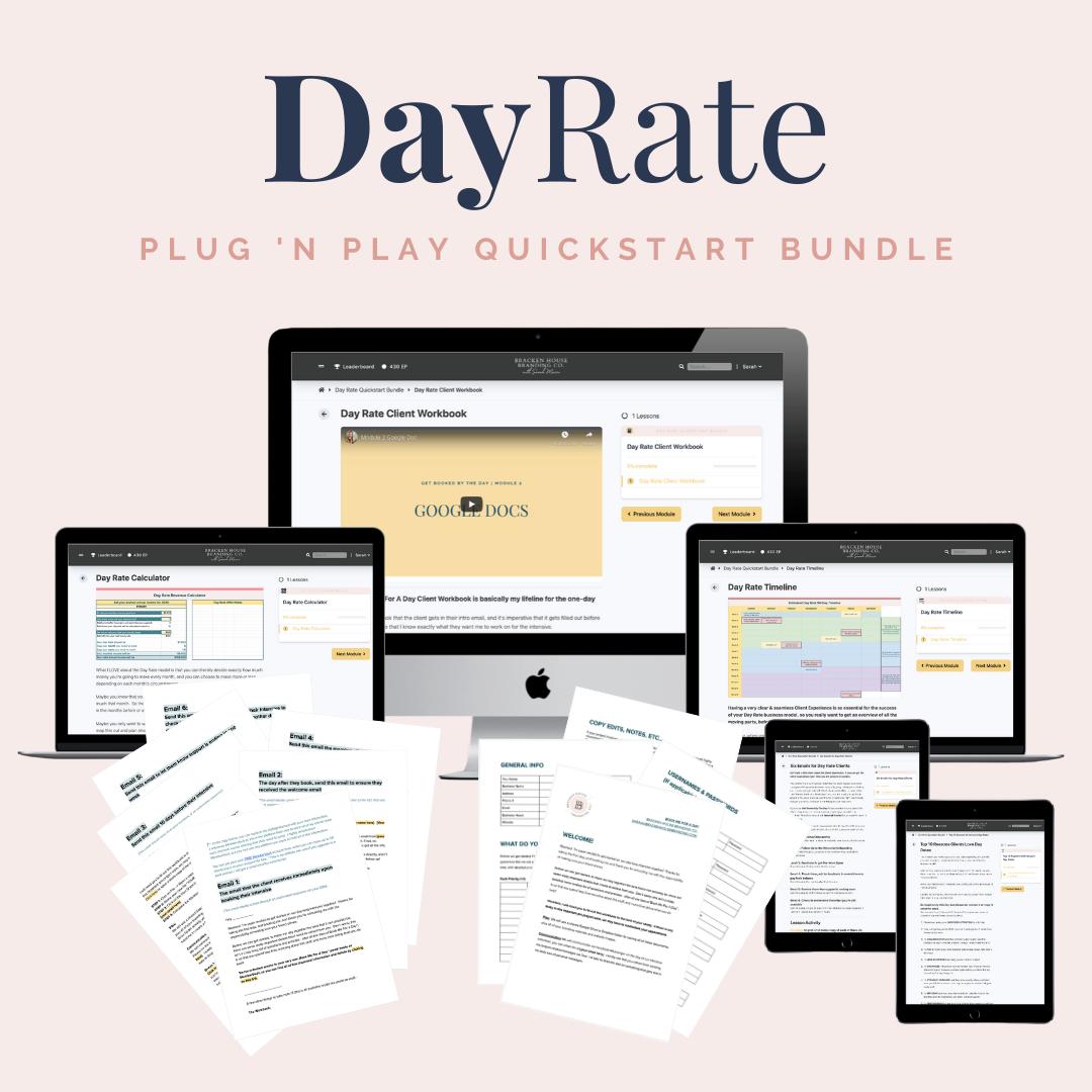 DayRate Mockup
