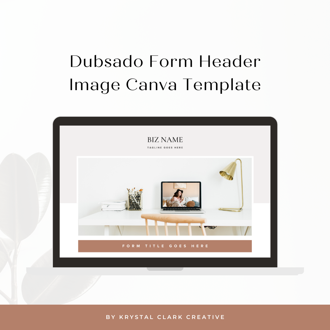 Minimal Boho - Dubsado Header Image - Mock Up
