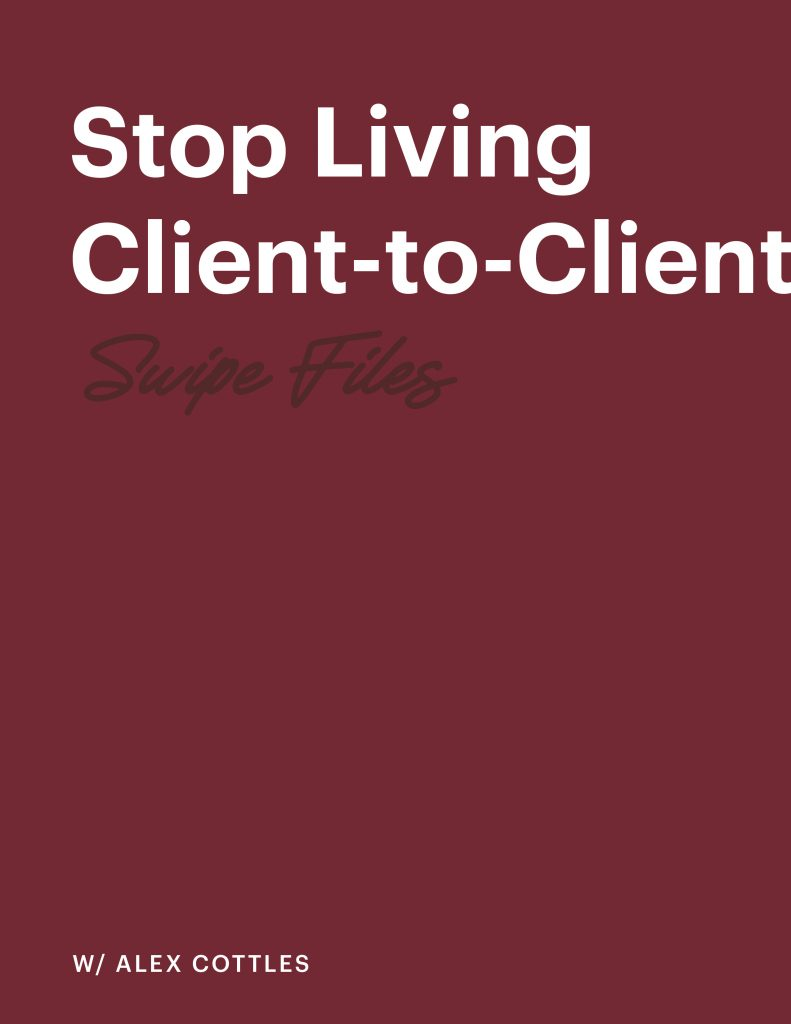Stop Living Client-to-Client